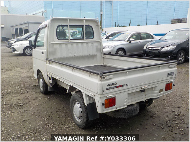 It is a picture of the white daihatsu hijet truck in 2000,Sub Photo 3 Stock No.Y033306