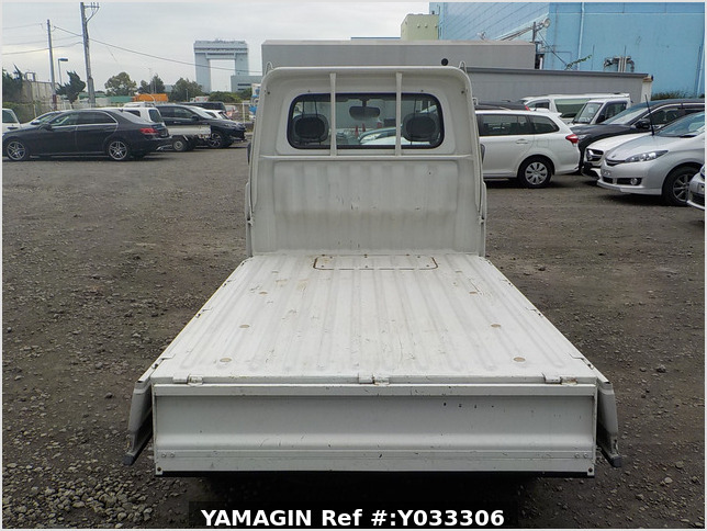 It is a picture of the white daihatsu hijet truck in 2000,Sub Photo 4 Stock No.Y033306