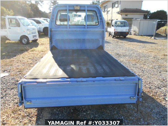 It is a picture of the blue honda acty truck in 1996,Sub Photo 4 Stock No.Y033307