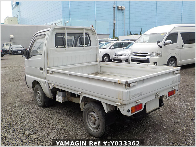 It is a picture of the white suzuki carry truck in 1993,Sub Photo 3 Stock No.Y033362