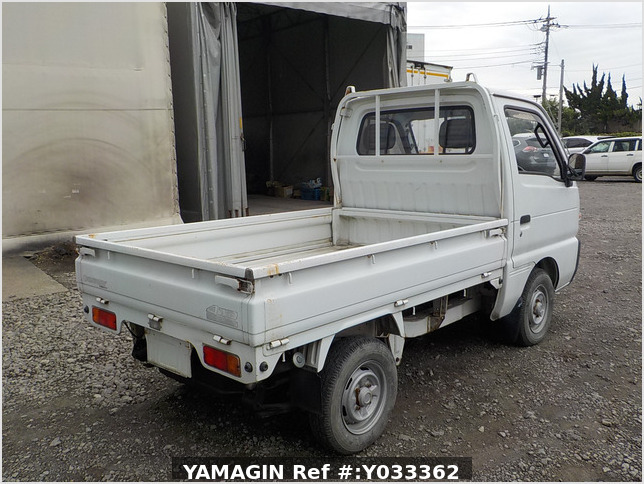 It is a picture of the white suzuki carry truck in 1993,Sub Photo 2 Stock No.Y033362