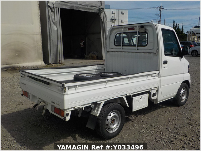 It is a picture of the white mitsubishi minicab truck in 2011,Sub Photo 2 Stock No.Y033496