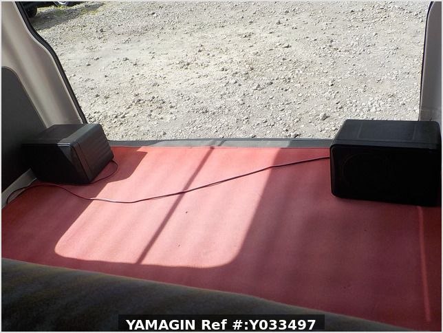 It is a picture of the white daihatsu hijet passenger van in 1995,Sub Photo 9 Stock No.Y033497