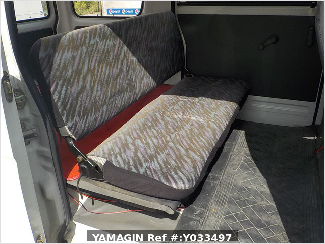 It is a picture of the white daihatsu hijet passenger van in 1995,Sub Photo 5 Stock No.Y033497