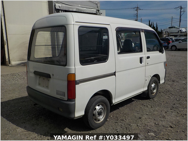 It is a picture of the white daihatsu hijet passenger van in 1995,Sub Photo 2 Stock No.Y033497