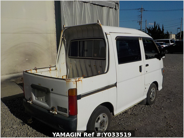 It is a picture of the white daihatsu hijet deck van in 1997,Sub Photo 2 Stock No.Y033519