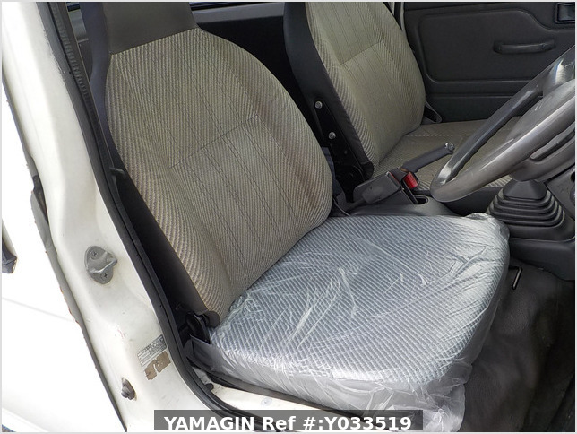 It is a picture of the white daihatsu hijet deck van in 1997,Sub Photo 9 Stock No.Y033519