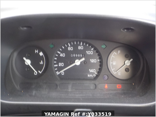 It is a picture of the white daihatsu hijet deck van in 1997,Sub Photo 5 Stock No.Y033519