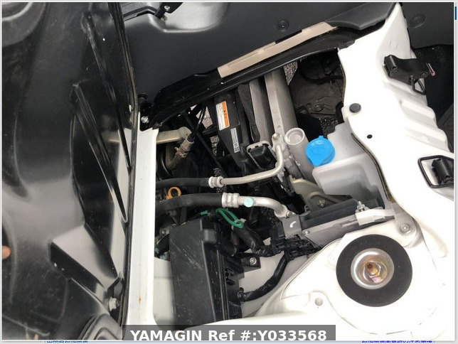 It is a picture of the white nissan nt100 clipper dump in 2014,Sub Photo 18 Stock No.Y033568