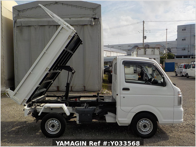 It is a picture of the white nissan nt100 clipper dump in 2014,Sub Photo 0 Stock No.Y033568