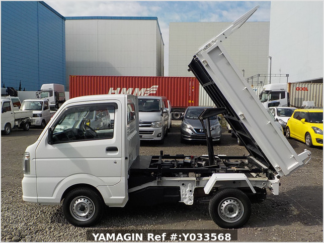 It is a picture of the white nissan nt100 clipper dump in 2014,Sub Photo 7 Stock No.Y033568