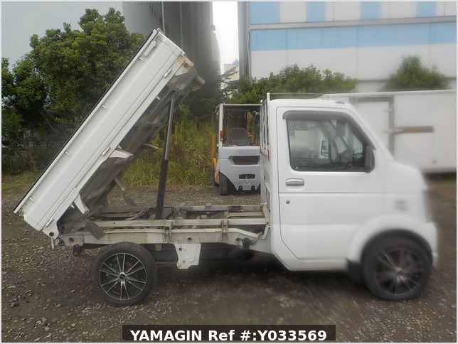It is a picture of the white suzuki carry dump in 2010,Sub Photo 0 Stock No.Y033569