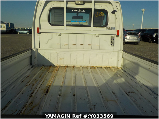 It is a picture of the white suzuki carry dump in 2010,Sub Photo 5 Stock No.Y033569