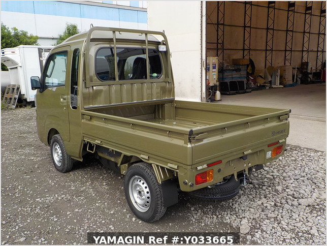 It is a picture of the khaki daihatsu hijet jumbo in 2020,Sub Photo 3 Stock No.Y033665