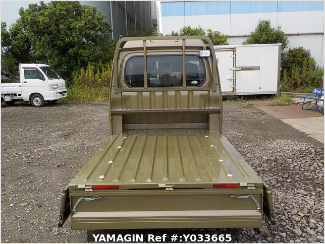 It is a picture of the khaki daihatsu hijet jumbo in 2020,Sub Photo 4 Stock No.Y033665