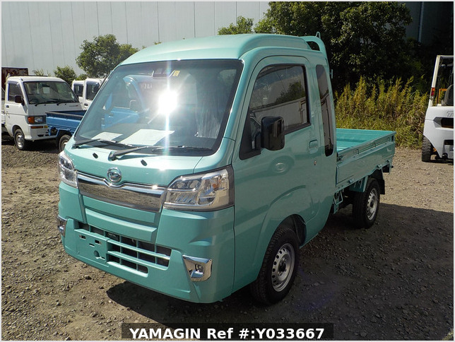 It is a picture of the fine mint  daihatsu hijet  jumbo in 2020,Sub Photo 1 Stock No.Y033667