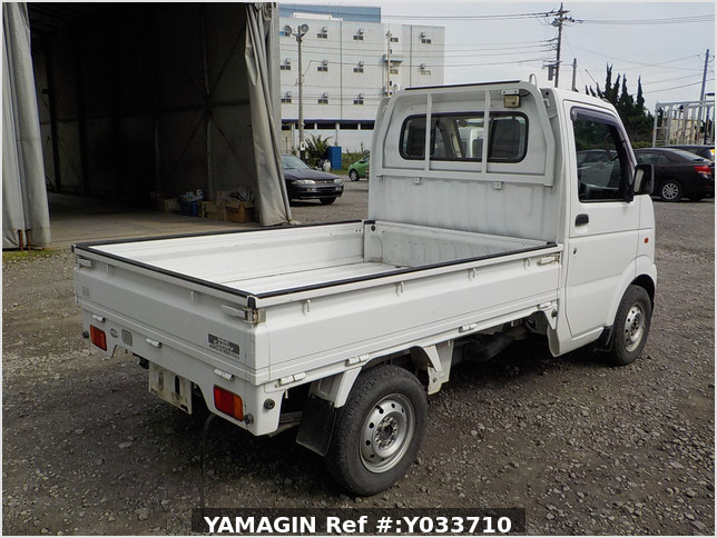 It is a picture of the white suzuki carry truck in 2002,Sub Photo 2 Stock No.Y033710