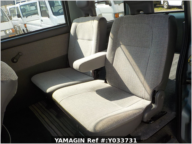 It is a picture of the green daihatsu atrai passenger van in 1996,Sub Photo 14 Stock No.Y033731