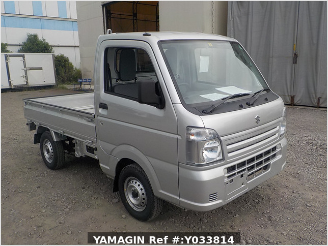 It is a picture of the silver suzuki carry truck in 2020,Sub Photo 0 Stock No.Y033814