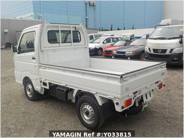 It is a picture of the white suzuki carry truck in 2020,Sub Photo 3 Stock No.Y033815