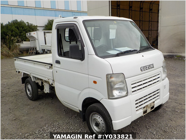 It is a picture of the white suzuki carry dump in 2006,Sub Photo 1 Stock No.Y033821