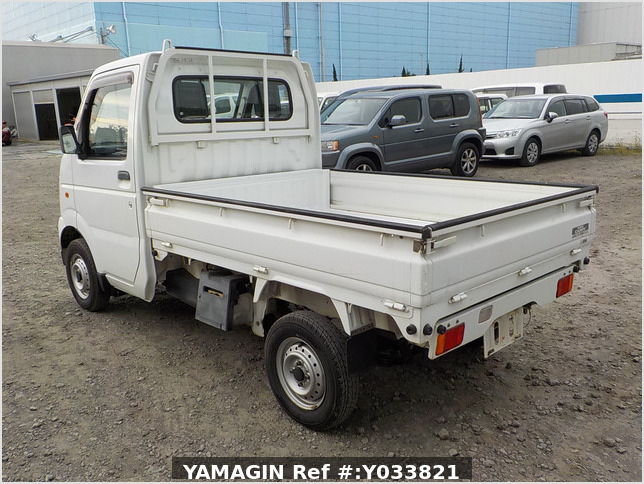 It is a picture of the white suzuki carry dump in 2006,Sub Photo 4 Stock No.Y033821