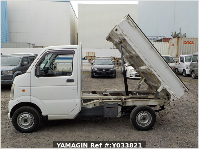 It is a picture of the white suzuki carry dump in 2006,Sub Photo 6 Stock No.Y033821