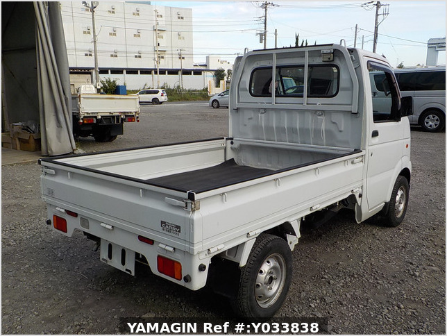 It is a picture of the white suzuki carry truck in 2012,Sub Photo 2 Stock No.Y033838