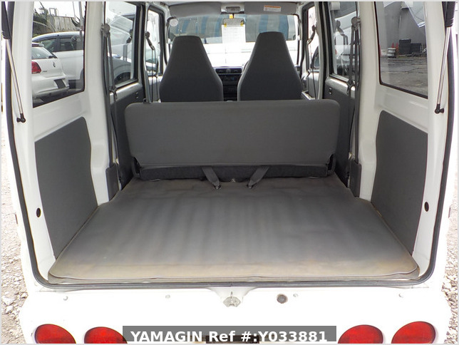 It is a picture of the white mitsubishi minicab passenger van in 2009,Sub Photo 4 Stock No.Y033881