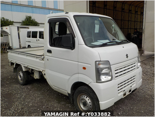 It is a picture of the white suzuki carry truck in 2012,Sub Photo 0 Stock No.Y033882