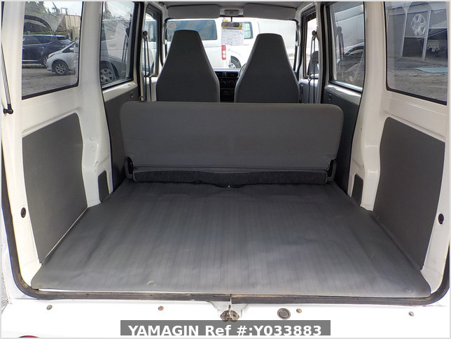 It is a picture of the white mitsubishi minicab passenger van in 2003,Sub Photo 4 Stock No.Y033883