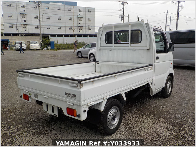 It is a picture of the white suzuki carry truck in 2004,Sub Photo 2 Stock No.Y033933