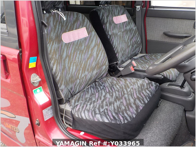 It is a picture of the red daihatsu atrai passenger van in 1996,Sub Photo 12 Stock No.Y033965