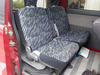 It is a picture of the red daihatsu atrai passenger van in 1996,Sub Photo 13 Stock No.Y038109
