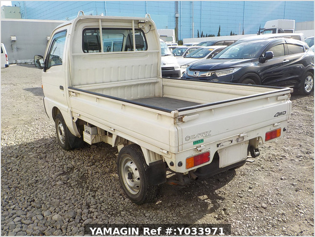 It is a picture of the white suzuki carry truck in 1996,Sub Photo 3 Stock No.Y033971