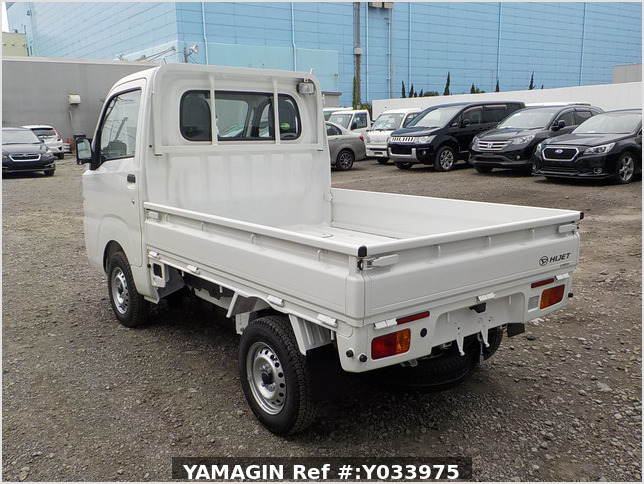 It is a picture of the white daihatsu hijet  truck in 2020,Sub Photo 3 Stock No.Y033975