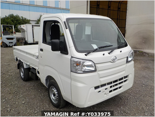 It is a picture of the white daihatsu hijet  truck in 2020,Sub Photo 0 Stock No.Y033975