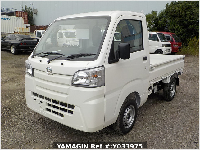 It is a picture of the white daihatsu hijet  truck in 2020,Sub Photo 1 Stock No.Y033975