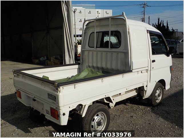 It is a picture of the white daihatsu hijet jumbo in 1997,Sub Photo 2 Stock No.Y033976