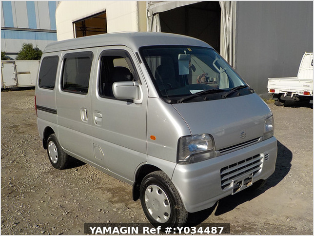 It is a picture of the silver suzuki every passenger van in 2004,Sub Photo 0 Stock No.Y034487