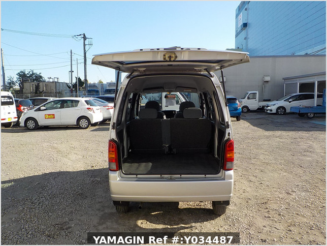 It is a picture of the silver suzuki every passenger van in 2004,Sub Photo 5 Stock No.Y034487
