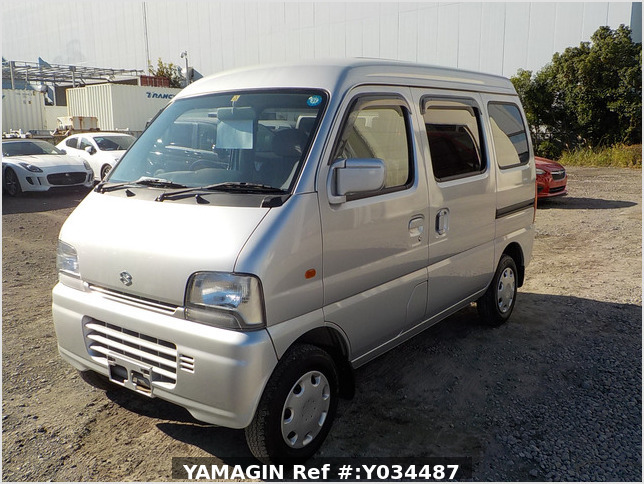 It is a picture of the silver suzuki every passenger van in 2004,Sub Photo 1 Stock No.Y034487