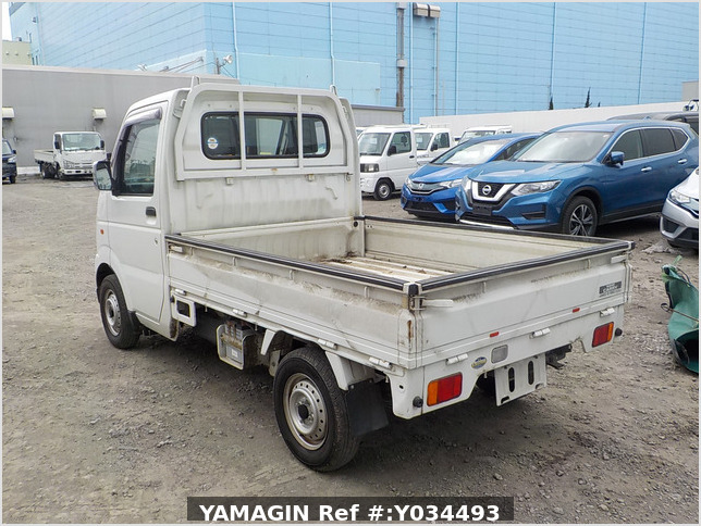 It is a picture of the white suzuki carry  truck in 2002,Sub Photo 3 Stock No.Y034493