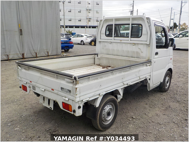 It is a picture of the white suzuki carry  truck in 2002,Sub Photo 2 Stock No.Y034493