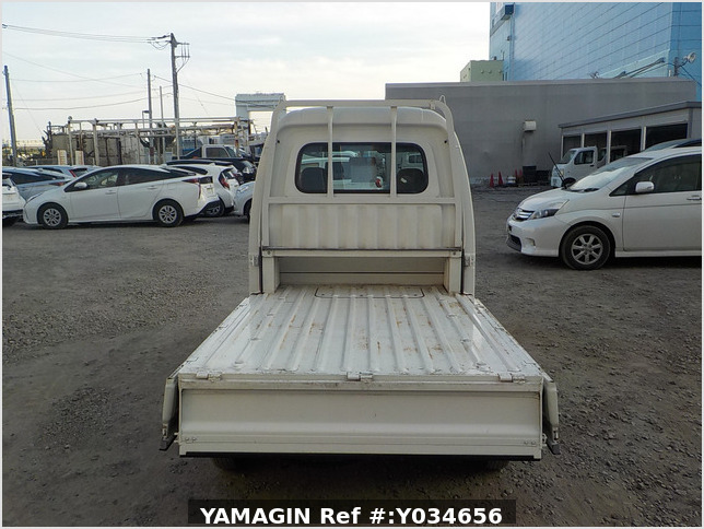 It is a picture of the white daihatsu hijet jumbo in 2009,Sub Photo 4 Stock No.Y034656