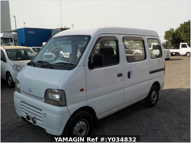It is a picture of the white suzuki every passenger van in 2005,Sub Photo 1 Stock No.Y034832