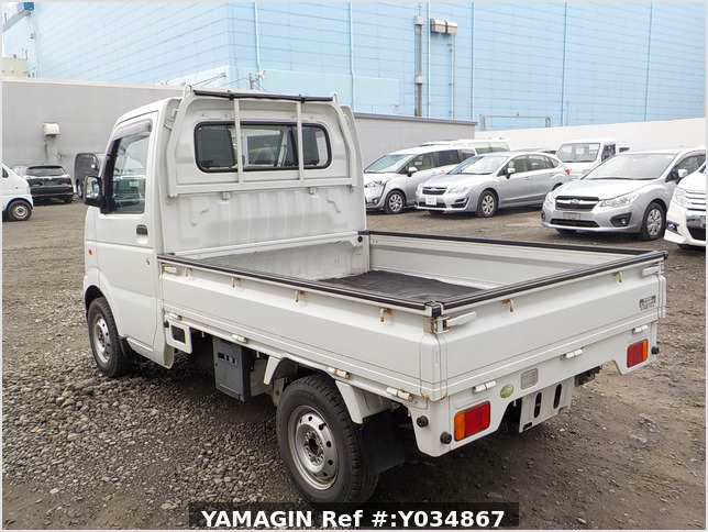 It is a picture of the white suzuki carry truck in 2006,Sub Photo 3 Stock No.Y034867