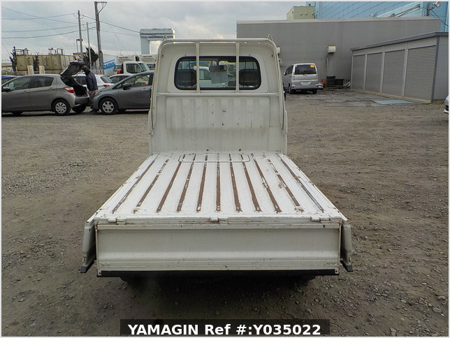 It is a picture of the white daihatsu hijet truck in 1998,Sub Photo 4 Stock No.Y035022