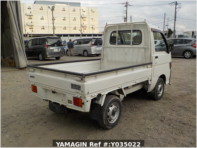 It is a picture of the white daihatsu hijet truck in 1998,Sub Photo 2 Stock No.Y035022