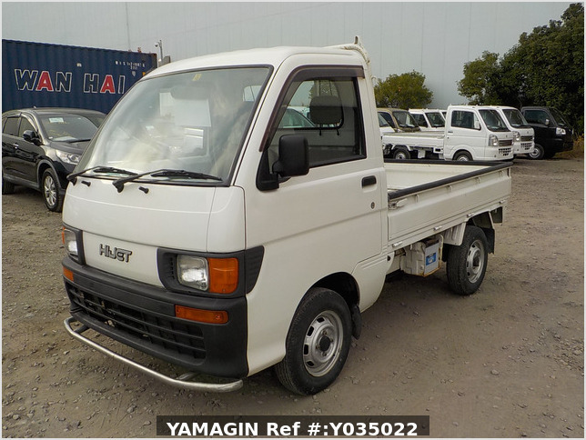 It is a picture of the white daihatsu hijet truck in 1998,Sub Photo 1 Stock No.Y035022